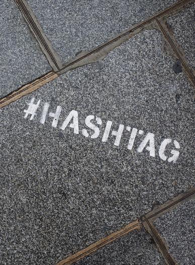 Hashtag graphc
