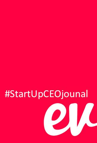 Start Up CEO Journal evvnt graphic
